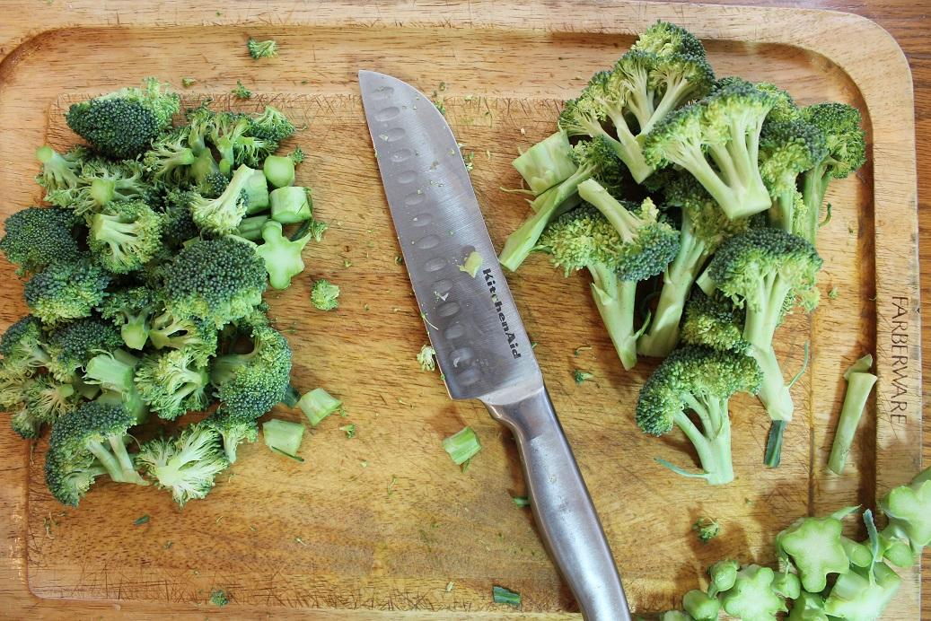 Size of broccoli resized