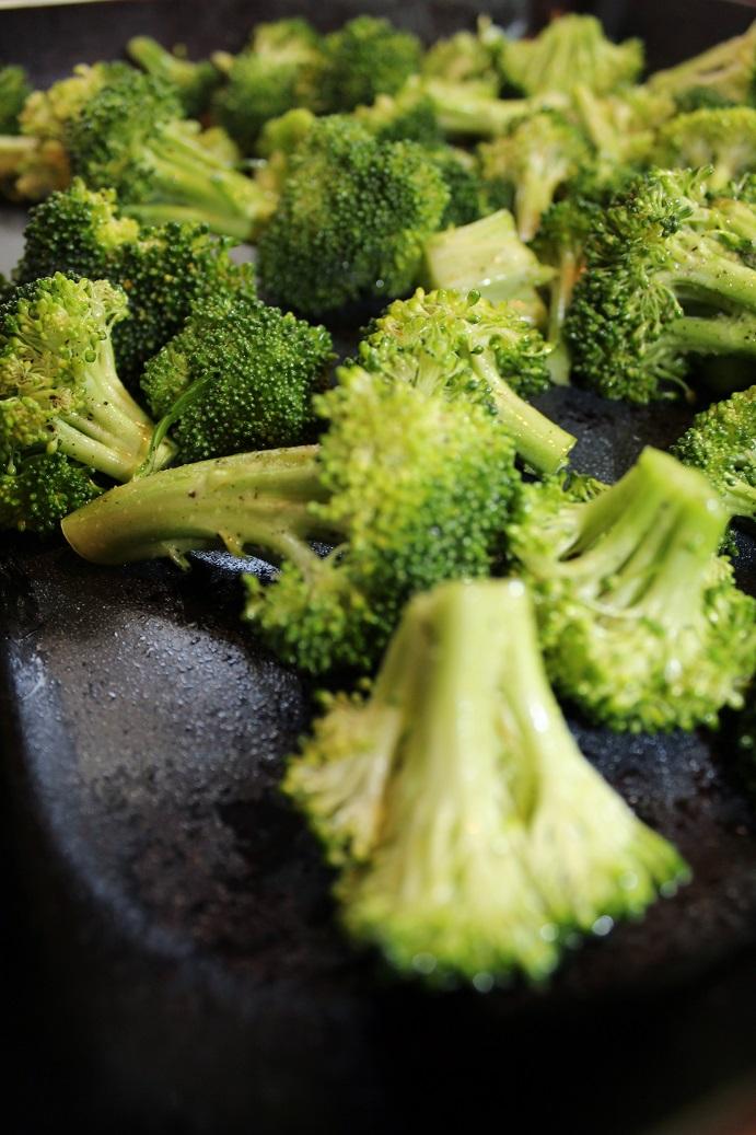 broccoli on pan resized